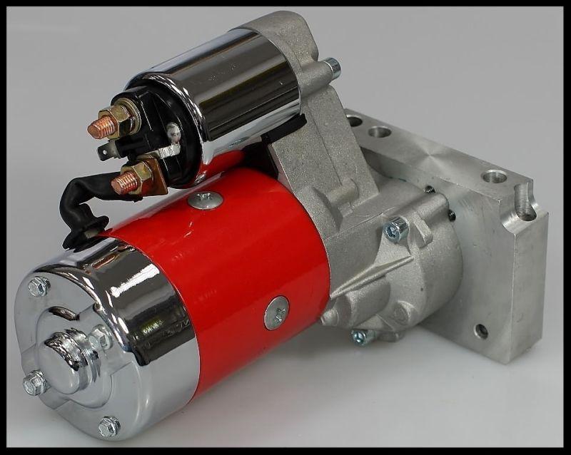 Sbc Bbc Chevy High Torque Mini Starter 3hp Red Jm 7001 R Chevy Starter Mini