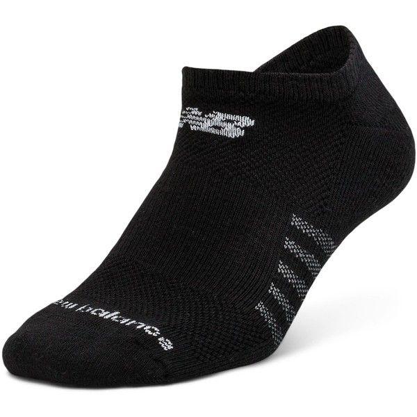 New Balance Men's & Women's No Show 6 pack (52.630 COP) ❤ liked on.  Calcetines De NikeCalceteríaAlgodón Negro
