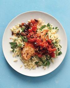chicken and orzo pasta recipe