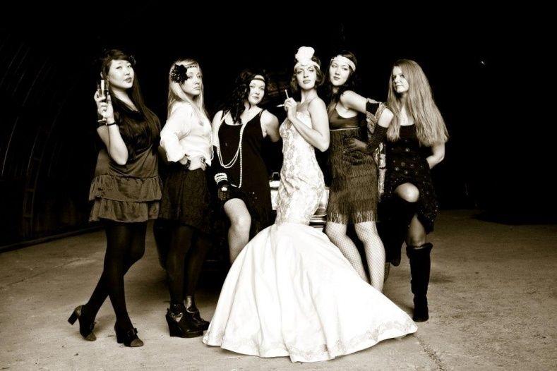 Gangster Style Wedding Dresses