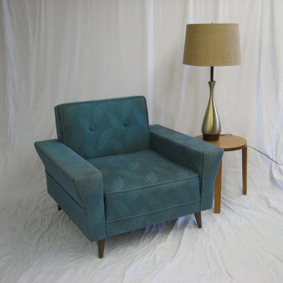 Mid Century Modern Kroehler Chair 1965 By Grestuff On Etsy