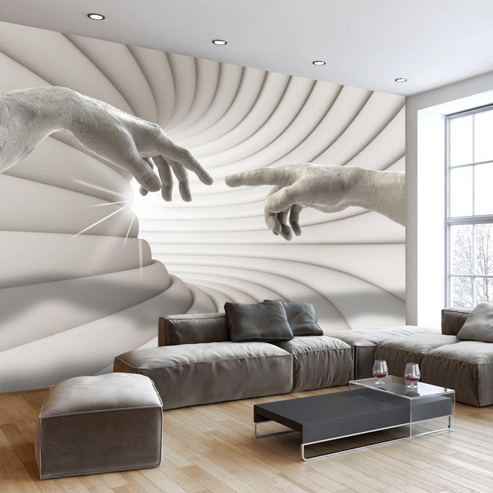 Fototapete Wohnzimmer Modern: Abstrakt Fototapeta #wallpaper #art #design