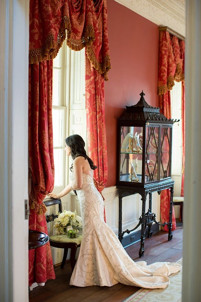 The William Aiken House | Winter Wedding | Charleston, South Carolina | Photo by Alice Keeney