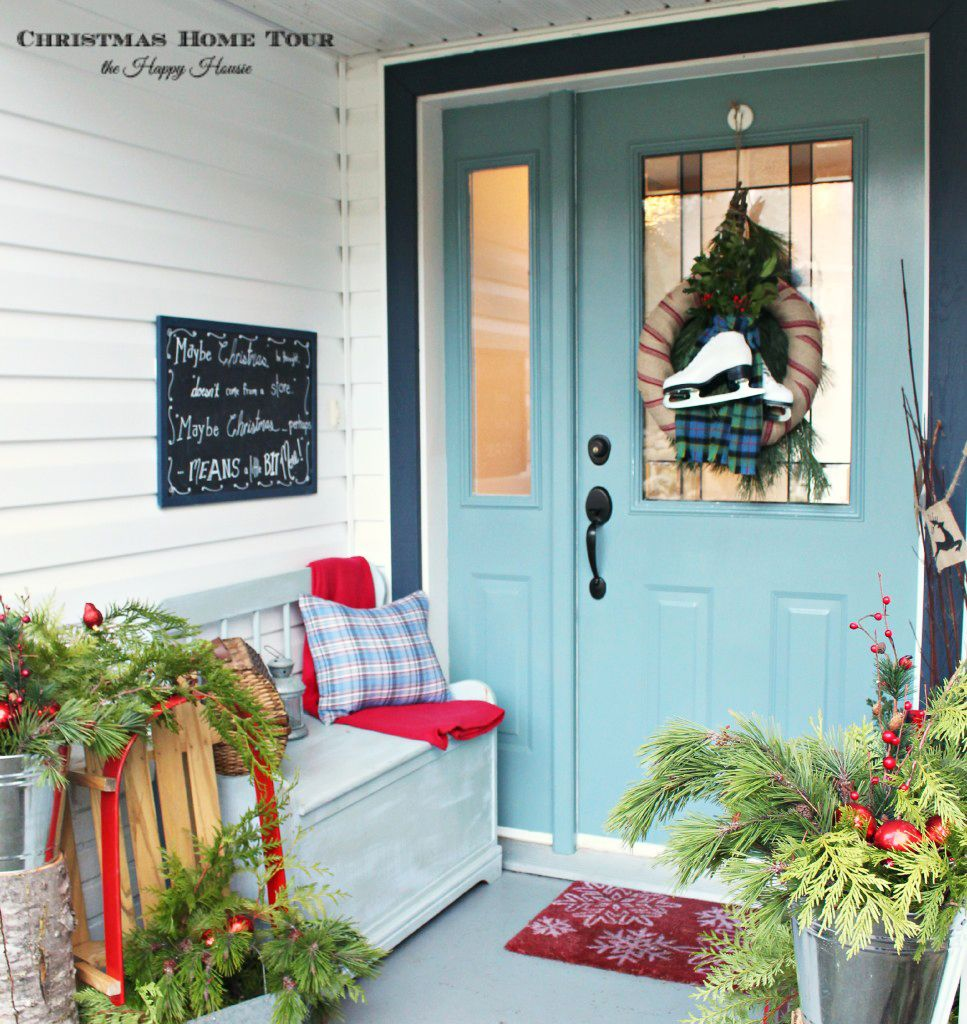 Winter Garments As Holiday Decor
