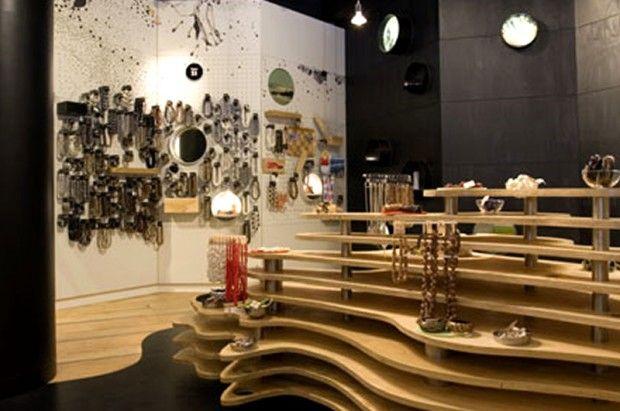 Retail Store Interior Design Icon Clare Cousins Australia Display