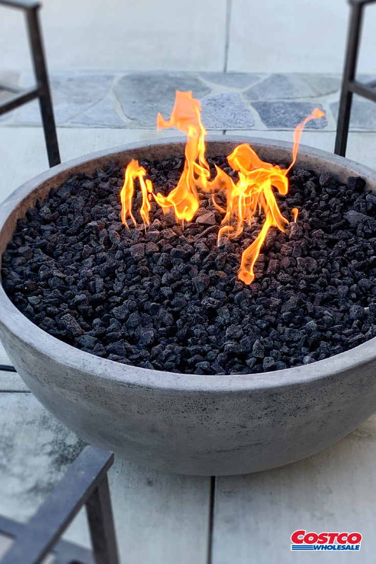 Propane Firepit Outdoor Fireplace Patio Gas Fire Bowl Black Backyard Heater Fire Pit Backyard Outdoor Fireplace Patio Patio Gas