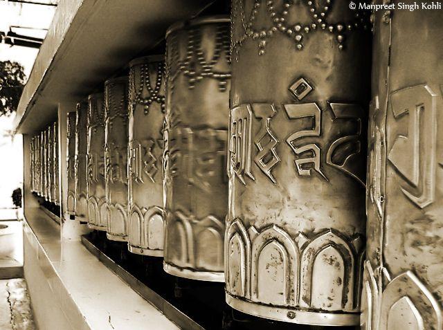 Tibetan Temple (Dharamsala) by Manpreet Singh Kohli, via Flickr