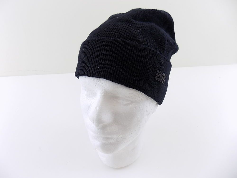 543098e7456fe KENNETH COLE  85 MEN Beanie FLEECE HAT Acrylic SIZE One Size Black WINTER  P24