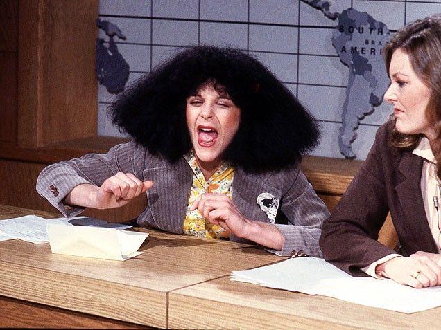 Gilda Radner as Roseanne Roseanna Danna on SATURDAY NIGHT LIVE!
