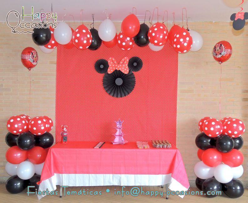 Decoraci n fiesta minnie mouse for Decoracion de minnie mouse
