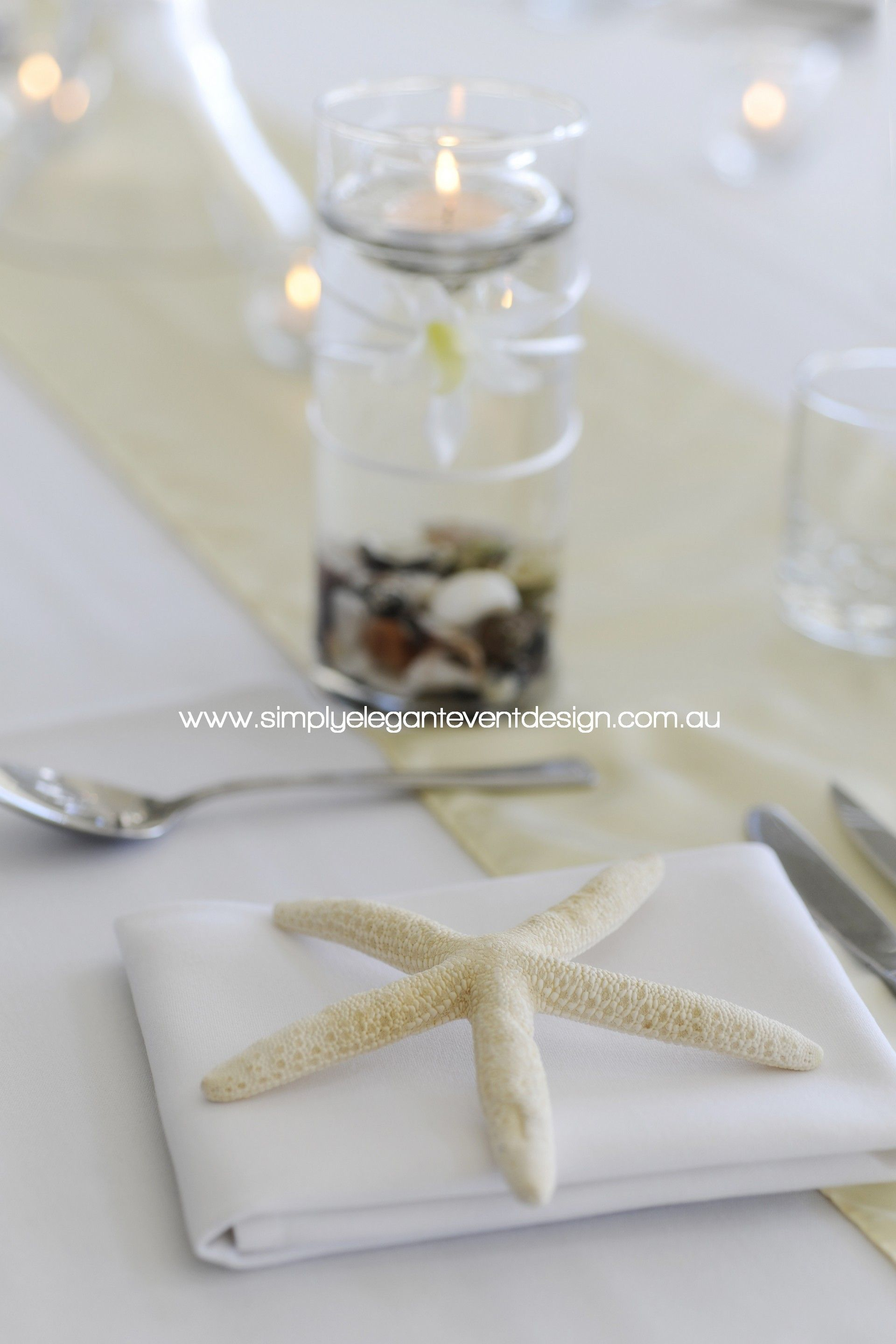 Yacht wedding decoration ideas  A beautiful beach theme at the cruising yacht club by