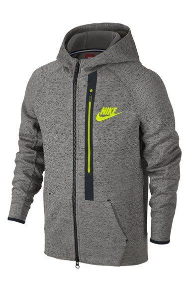 c62b58cf403b Nike  Tech Fleece  Full Zip Hoodie (Little Boys   Big Boys ...
