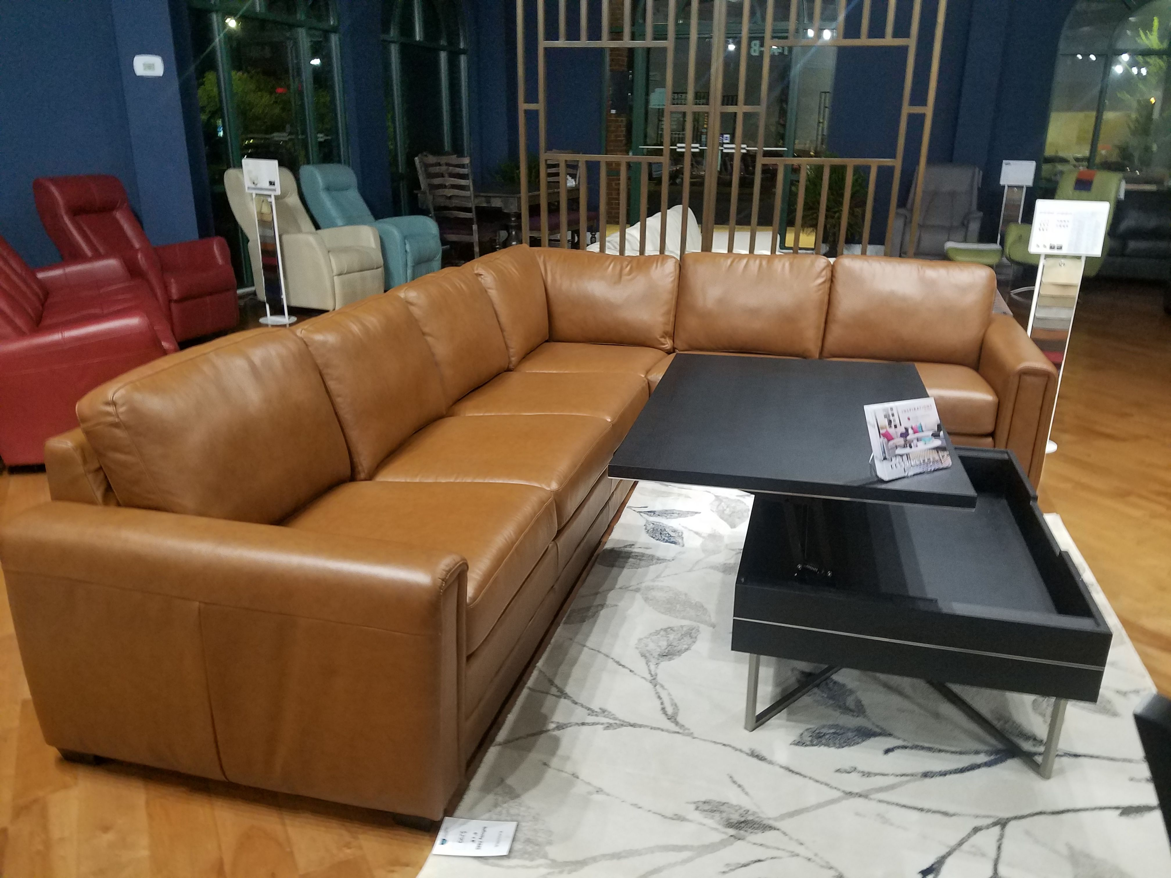 Prime Palliser Inspirations Sectional Leather Classic Sahara Low Gmtry Best Dining Table And Chair Ideas Images Gmtryco