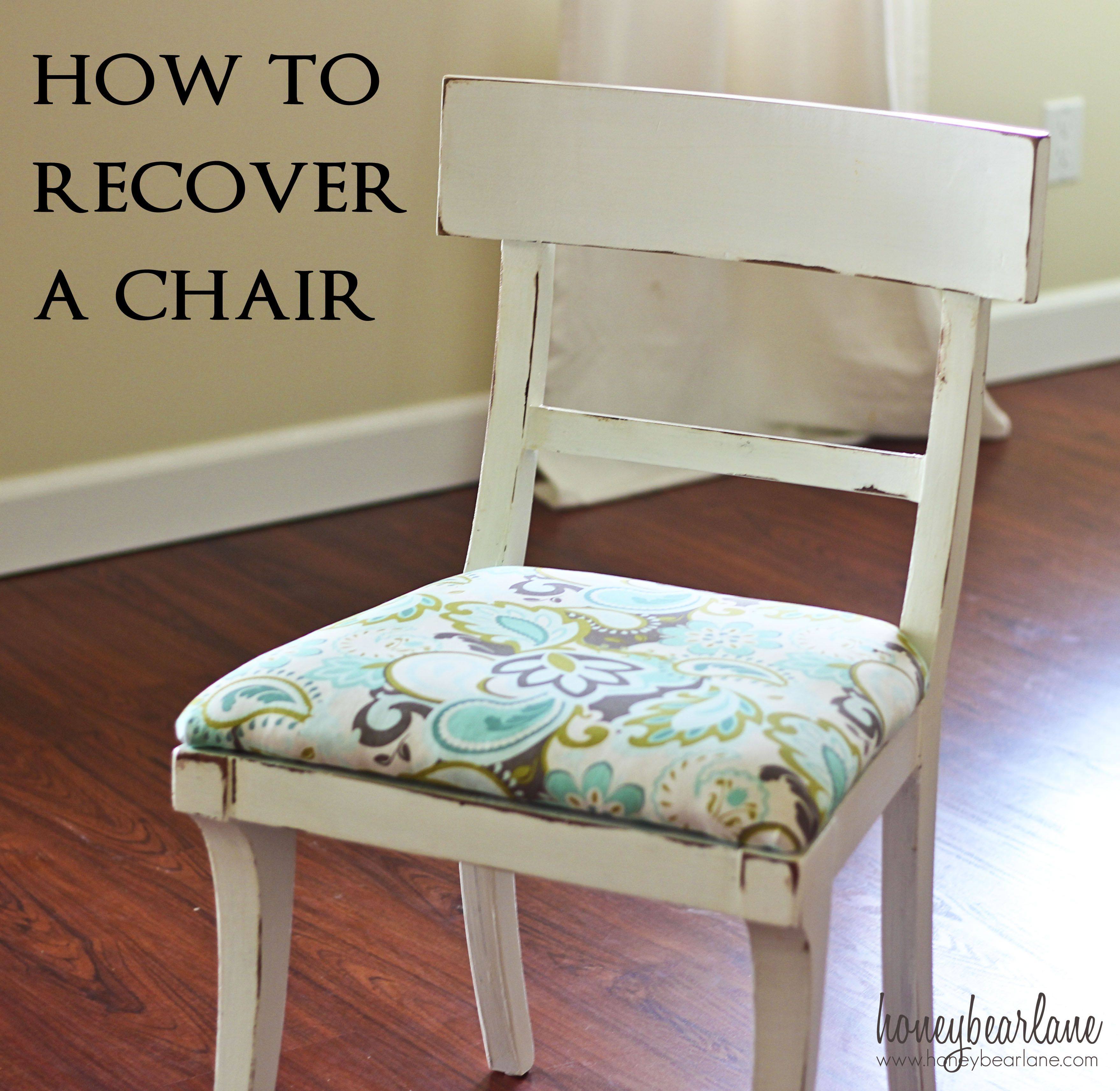 Beautiful How To Recover A Chair