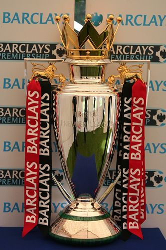 Created By Royal Jewellers Asprey Of London Weighs 4 St 25 Kg 56 Lb And Is 76 Cm 30 In Tall 43 Cm 17 In W Premier League Soccer Trophy Team Emblems