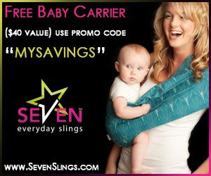 Baby Sling for FREE (just pay shipping) - Couponing Shopaholic