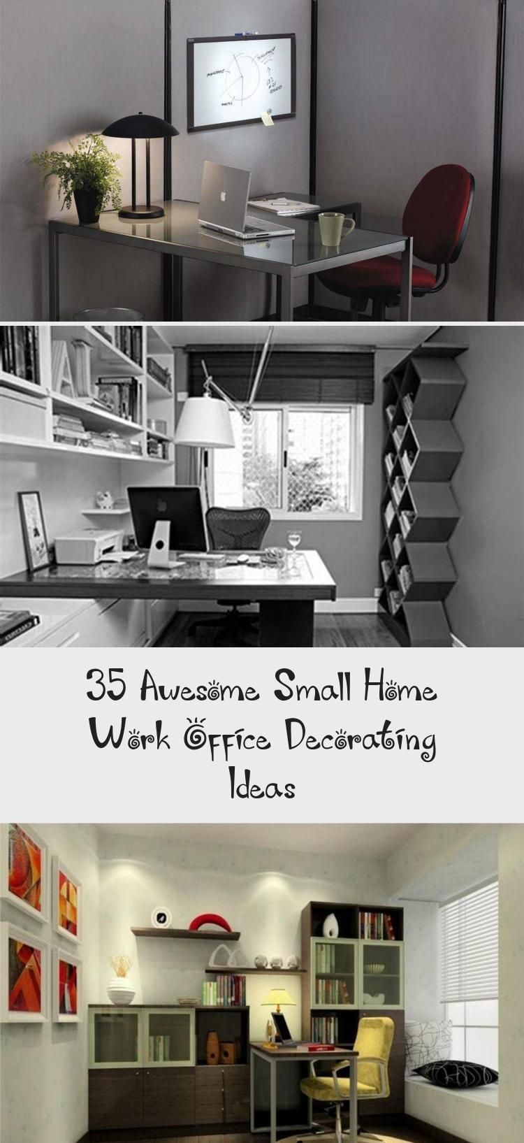 35 Awesome Small Home Work Office Decorating Ideas Decor