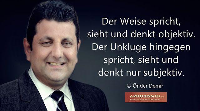 Gedichte und Liedtexte von Önder Demir: Der Weise