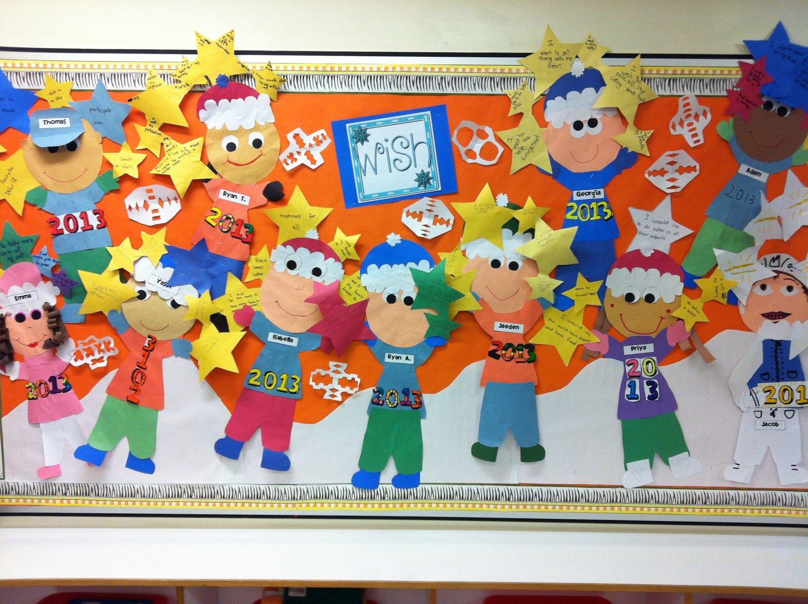 Happy New Year Bulletin Board Ideas 99