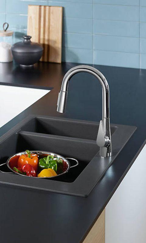 Hansgrohe Talis S Die Küchenarmatur verfügt über einen schwenkbaren - armatur küche ausziehbar