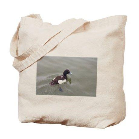 Tufted Duck Tote Bag on CafePress.com