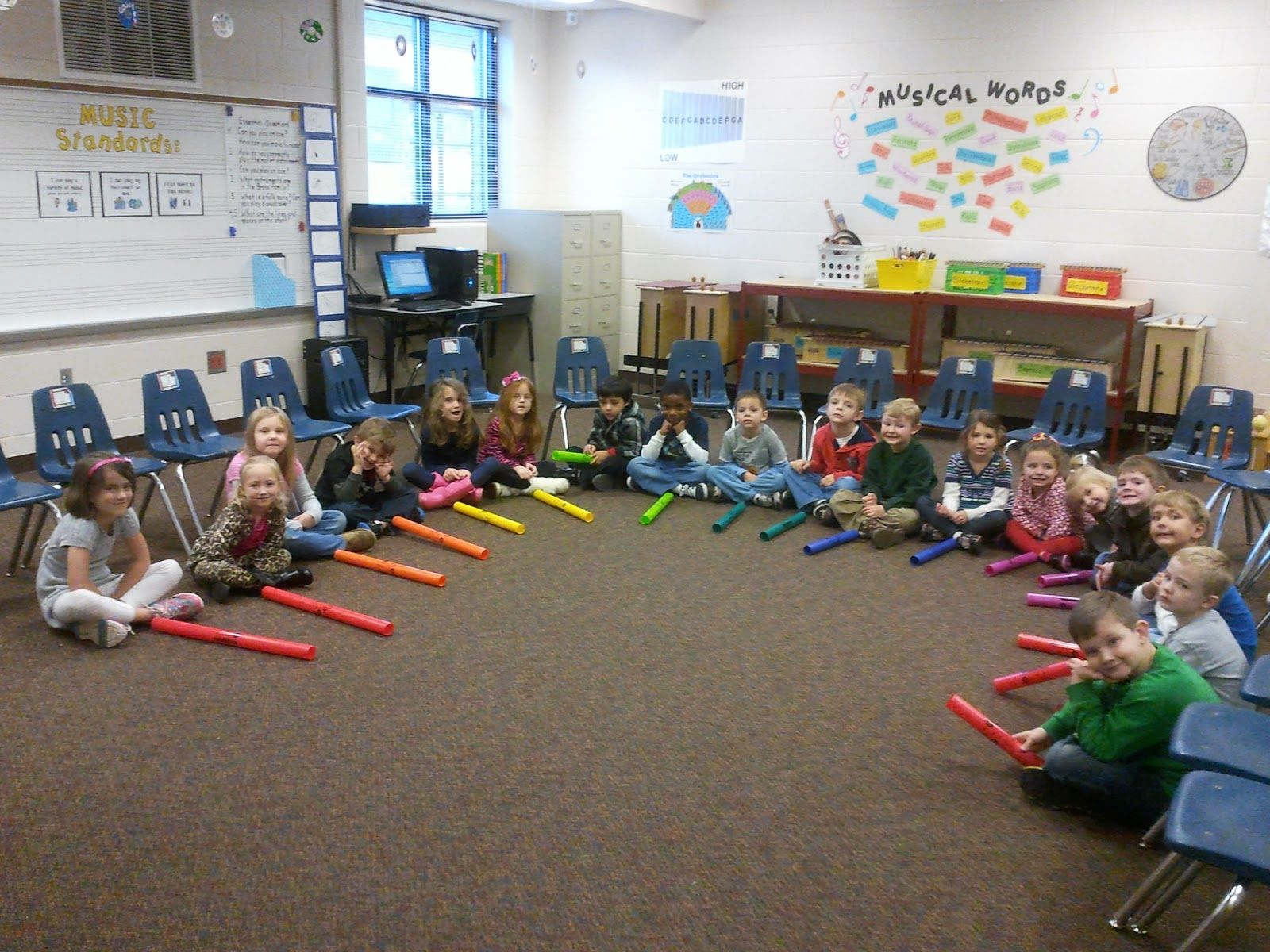 Up And Down The Scale Using Boomwhackers And The Snowman Song Great Stomp Activity Too
