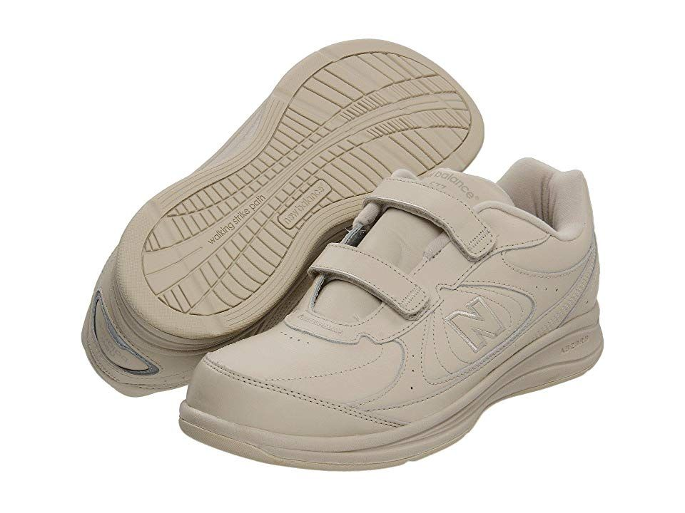 New Balance MW577 HookandLoop Bone Mens Walking Shoes Note These shoes were proudly assembled in US factories by more than 1 200 US workers Since the domestic value is le...