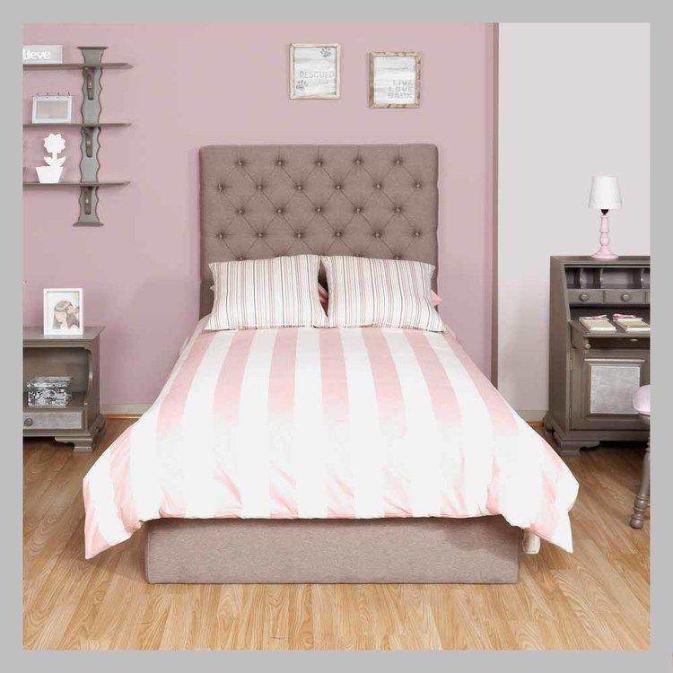 Cama con espaldar tapizado CM-10-100.jpg | cabeceros cama ...