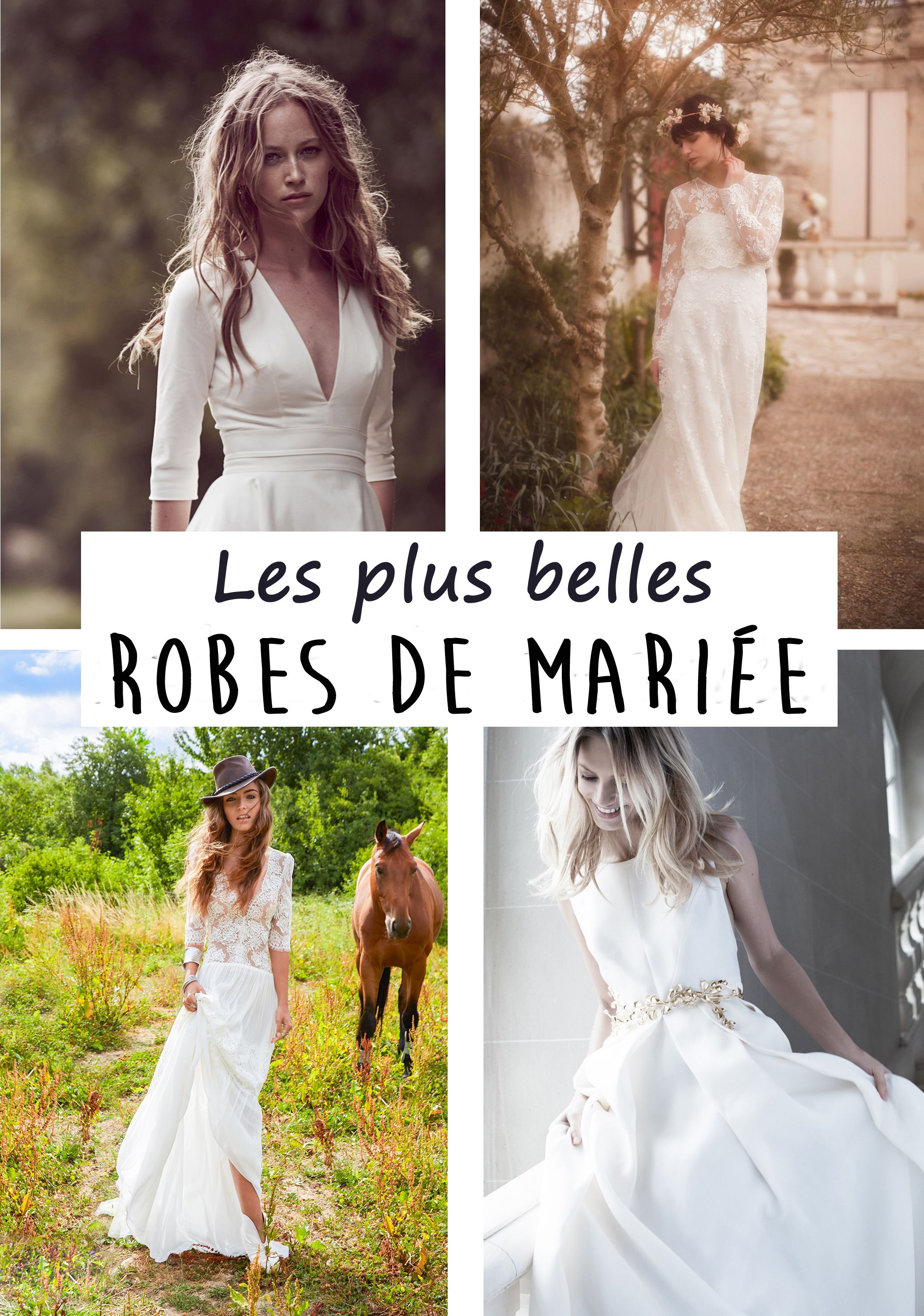 La plus belle robe de mariee 2017
