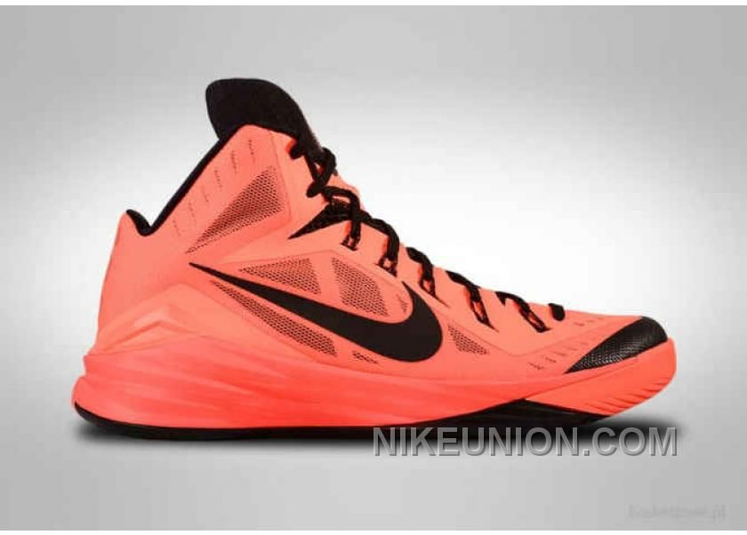 Buy Cheap Nike Hyperdunk 2014 Bright Mango Black 653640-800