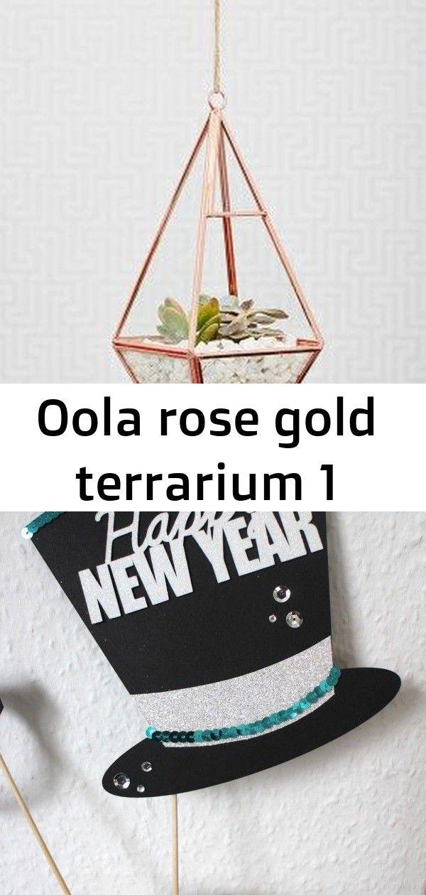 Oola rose gold terrarium 1 Oola Rose Gold Terrarium Happy New Year 2015  Stampin Up Artisan DesignTeam BlogHop 01012015  SilvesterDeko mit viel Gold und Silber und Glitze...