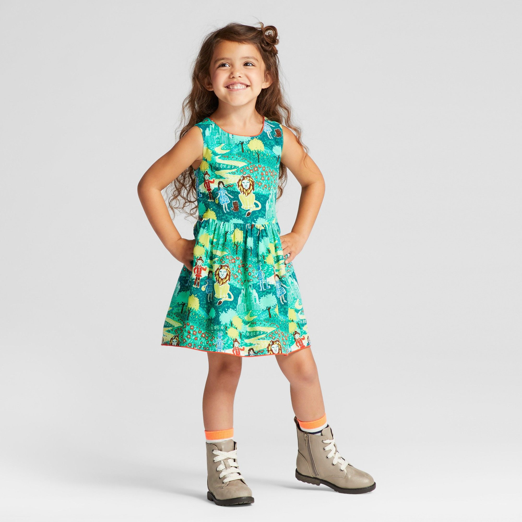 28f3f2e63dcb Toddler Girls  OZ A Line Dress - Genuine Kids from OshKosh English ...