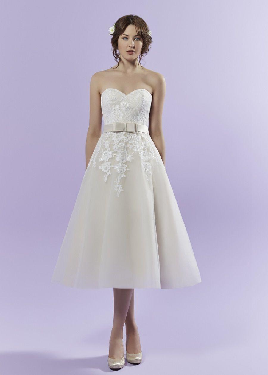 Winnie I Romantica of Devon: Standesamt Kleid kurz / 50s Look I Plus ...