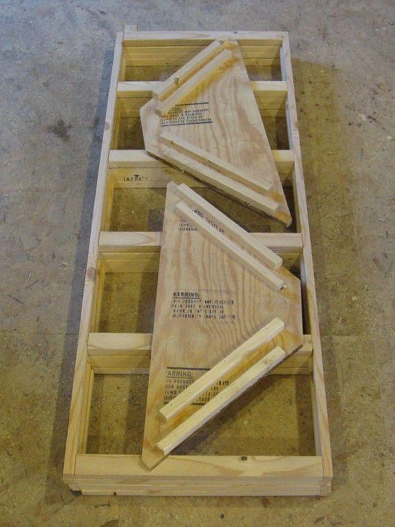 Wood Displays Craft Shows