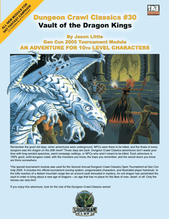 vault of the dragon kings levels 10 dungeon crawl classics 30