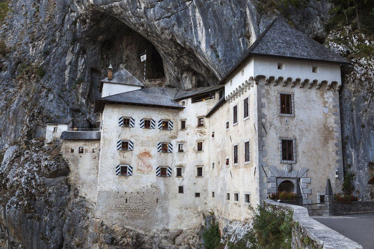 Castillo de Predjama, Inner Carniola (Eslovenia).