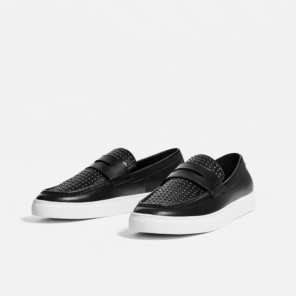 Brit - Mann - Homme Noir Chaussures Noires, Couleur Noire, Taille 40