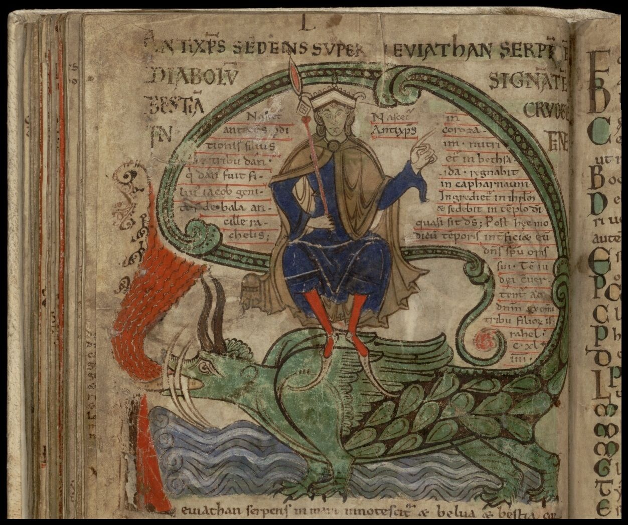 Image result for medieval manuscript tyrant