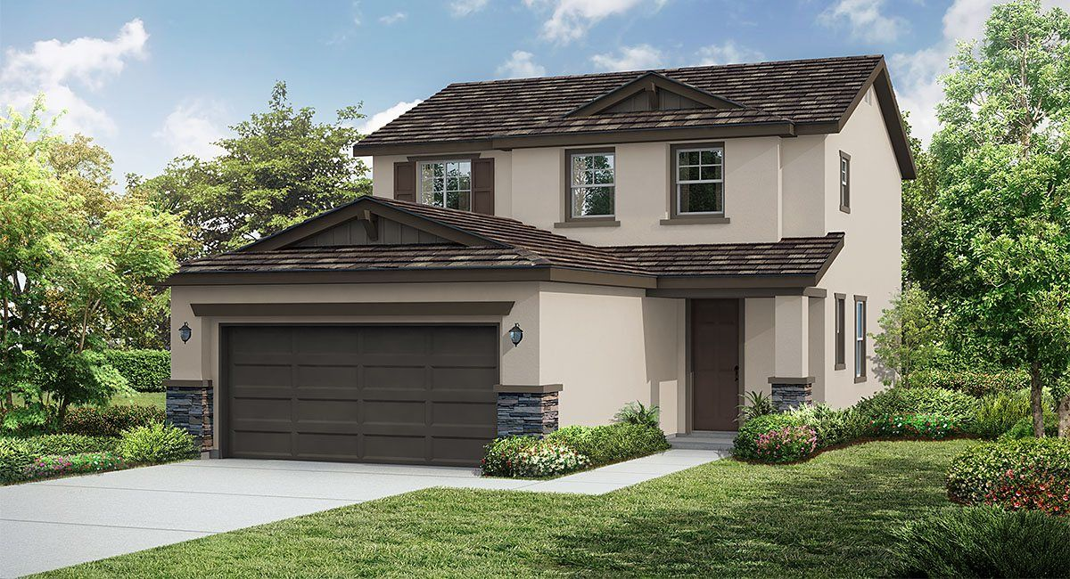 Residence 2 New Home Plan in Sage at Rosena Ranch by Lennar
