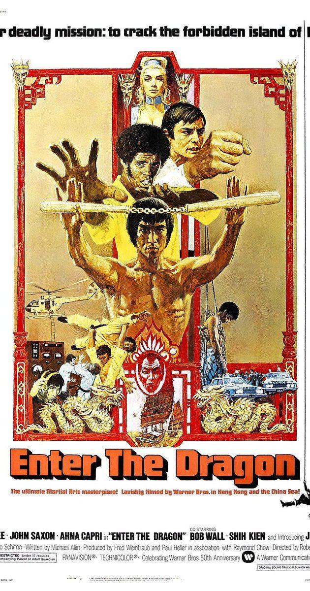 Enter the Dragon (1973) IMDb Bruce lee movies, Dragon