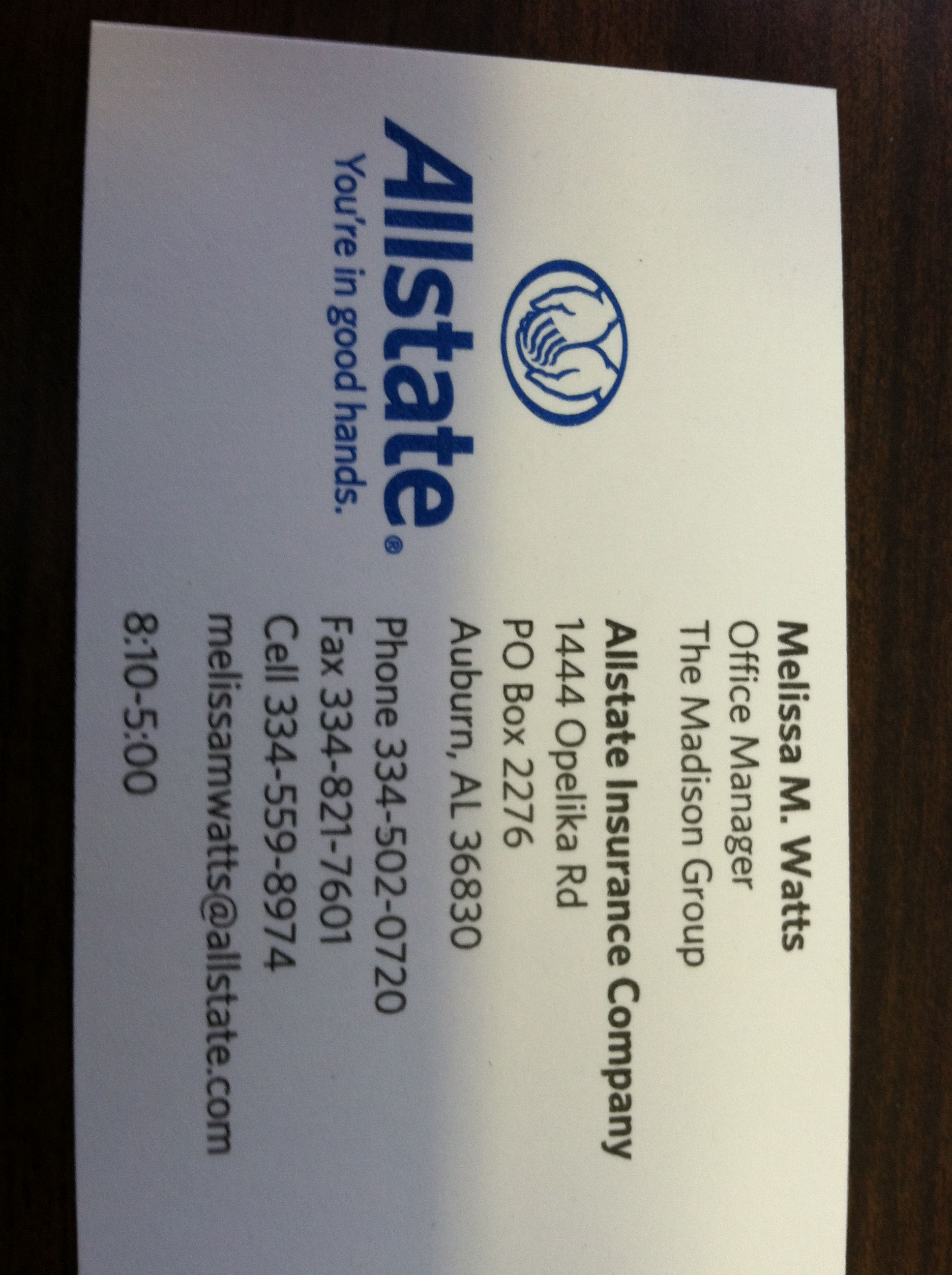 Allstate Insurance Co Call Me For A Quote 334 502 0720