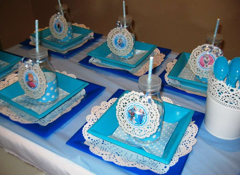 Surprising Frozen Table Setting Ideas Contemporary - Best Image ...