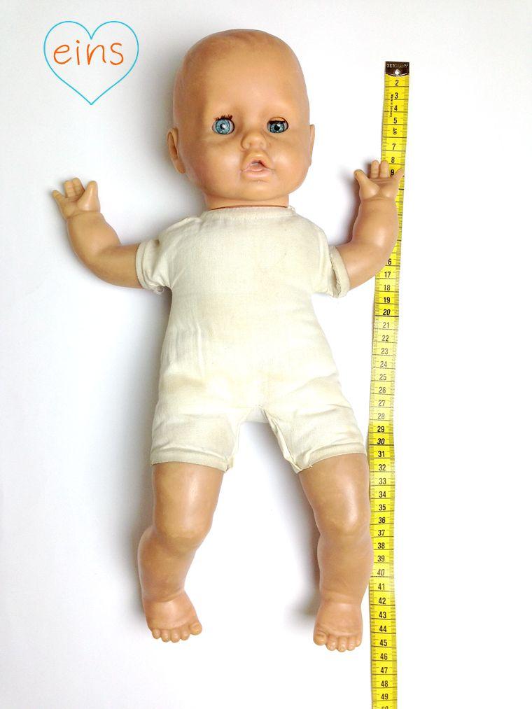 Puppenkleidung selber Nähen Anleitung und Schnittmuster für ein ...