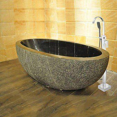 Freistehende badewanne stein  Wundershcöne freistehende Stein-Badewanne direkt hier bestellen ...