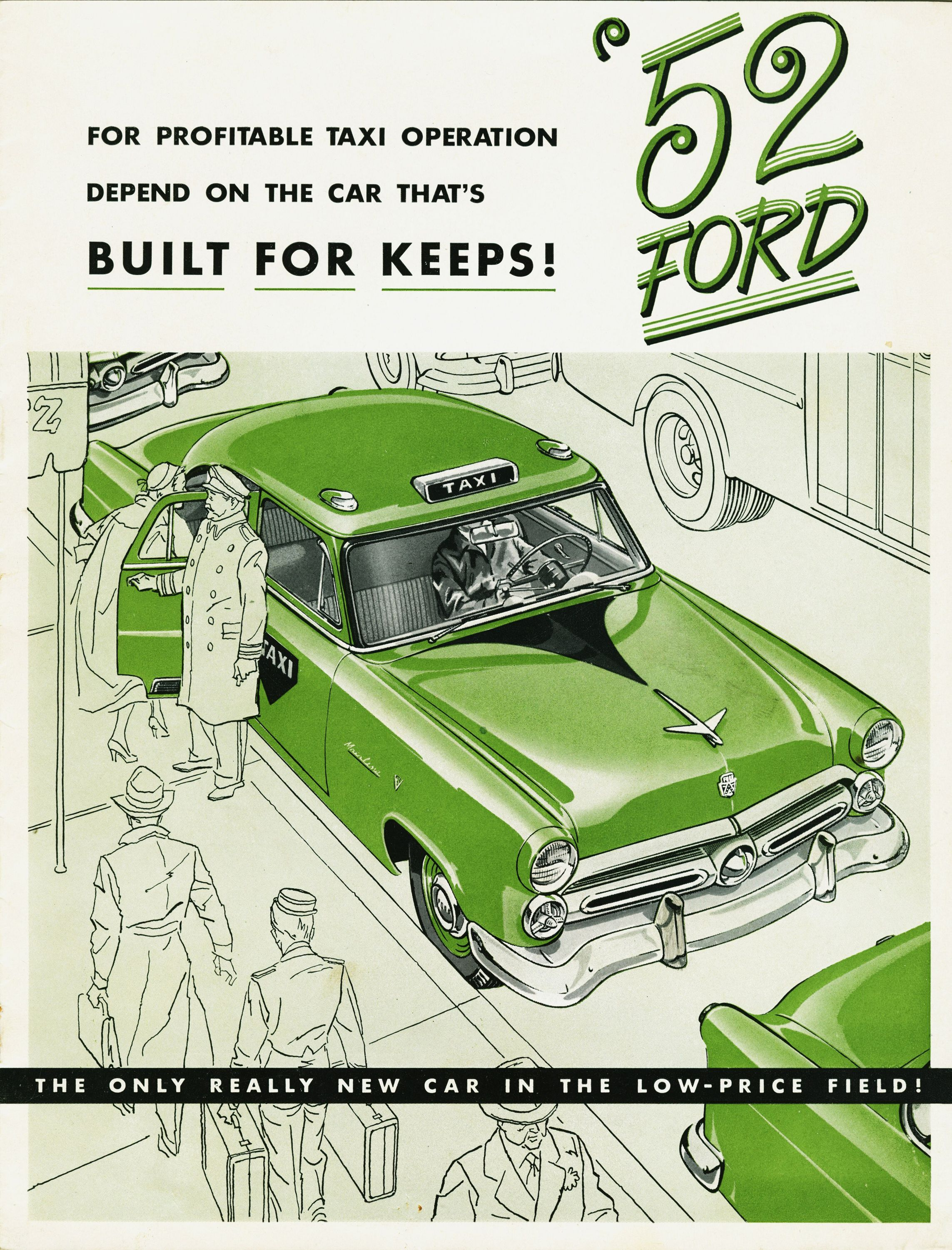 Ford brochure from 1952. | Advertising vintage cars | Pinterest