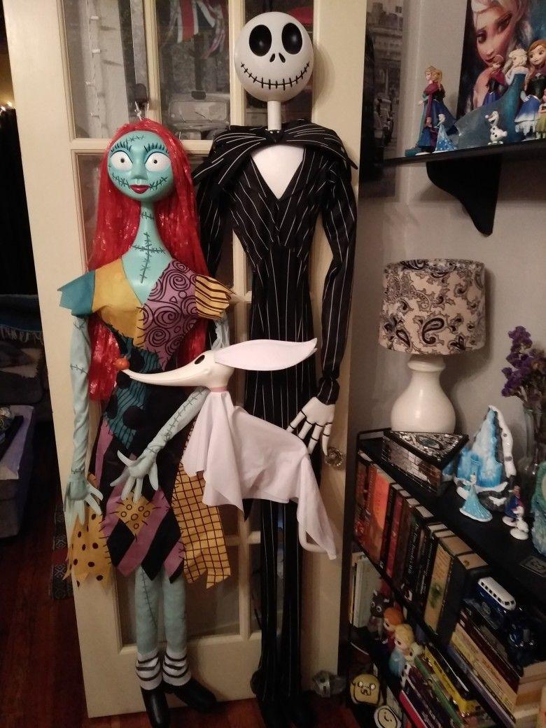 Jack Skellington, Sally, & Zero. Nightmare Before Christmas decor ...
