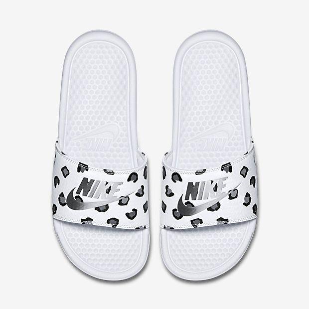 new concept d78dc 24b85 Nike Benassi Just Do It Print Women s Slide
