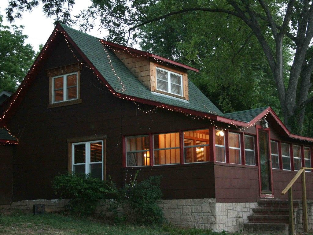Branson Vacation Rental   VRBO 437557   2 BR MO Cabin, Charming Cabin On  Taneycomo