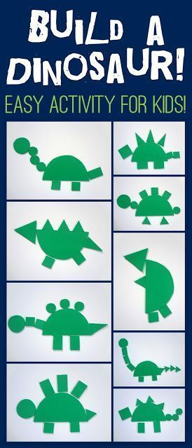 Fun Simple Dinosaur Activity For Kids Dinosaurs Preschool