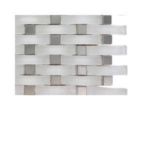 Pin By Colleen Anderko On Kitchen Morning Room White Glass Tile Splashback Tiles Mosaic Glass